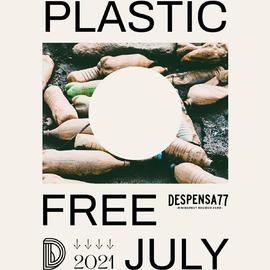Empieza JULIO SIN PLÁSTICO ! 🙌🏼🤗 Ayúdanos a difundirlo etiquetando a alguien que le pueda interesar 🙏🏽 ⠀⠀⠀⠀⠀⠀⠀ Una nueva oportunidad para aumentar la conciencia global sobre el consumo abusivo de plásticos de usar y tirar ♻️ ⠀⠀⠀⠀⠀⠀ Creada en 2011 por el equipo de #westernearthcarers , en 2020 evitó generar 900 millones de kg de residuos plásticos alrededor del mundo 🌍 ⠀⠀⠀⠀⠀⠀⠀⠀ El reto consiste en evitar al máximo, durante todo el mes de julio, la compra de cualquier producto con envase plástico de un solo uso 🍓🧴🧃🍟 ⠀⠀⠀⠀⠀⠀⠀⠀⠀ En @despensa_77 nos unimos al reto por cuarto año ✊🏼 Durante todo el mes y como en anteriores ediciones os animaremos con ideas para #rechazar el plástico de un solo uso ¿Te animas a intentarlo? ⠀⠀⠀⠀⠀⠀⠀⠀⠀ Recuerda que si quieres profundizar más en el tema, puedes apuntarte al reto desde el link de la bio de @plasticfreejuly  Gracias a nuestros chicos de @brutto.studio , en especial a @samu_loco por el maravilloso póster 💛 •••••••••••••••••••••••••••••••••••••••••••••••• #granel #sinplastico #fuckplastic #comidareal #slowfood #residuocero #ceroresiduo #ceroresiduos #zerowaste #eco #bio #natural #healthy #ecofriendly #sustainable #reuse #zerowastehome #noplastic #savetheplanet #plasticfree #plasticfreejuly #juliosinplastico #sostenible #despensa77 #fuckfashionwewantfood